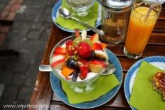 Fromage z owocami i orzechami