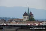 Katedra św. Piotra - widok z restauracji szpitala klinicznego