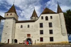 Zamek w Nyon