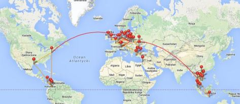 Wszystkie loty w 2015